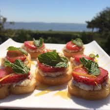 sweet u0026 savory bruschetta u2013 chef priyanka