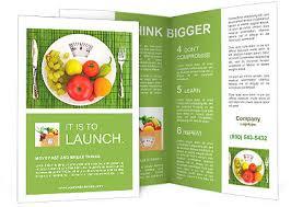 nutrition brochure template nutrition brochure template diet and nutrition brochure template