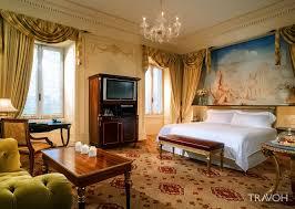 st regis luxury hotel rome italy u2013 ambassador suite bedroom travoh