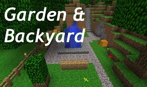 minecraft backyard and garden back in time 2 youtube