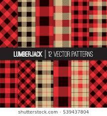check vs plaid lumberjack plaid buffalo check patterns red stock photo photo