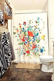 easy bathroom makeover ideas bathrooms floral shower curtain 5 easy bathroom makeover ideas