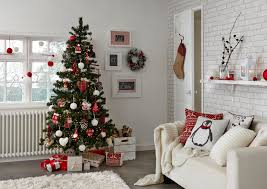christmas decorated living rooms ideas home design and decor