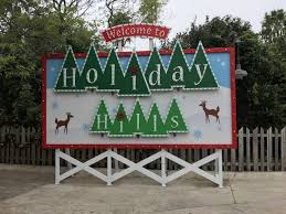 christmas town at busch gardens thrillz the ultimate theme