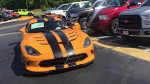 Dodge Viper Orange - 2017 dodge viper acr extreme aero package gerry wood youtube