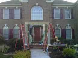 portico designs for front door front door of large brick house