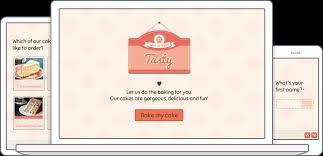 cake order online cake order form template typeform