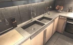 plan de travail cuisine beton b ton cir plan de travail cuisine la balian beton atelier thoigian