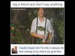 Tag A Friend Meme - musicians tag a friend and don t say anything youtube