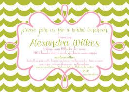 bridesmaid luncheon invitation wording hosted by bride wedding