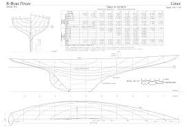 r boat pirate plan lines gif 10 000 6 787 pixels design