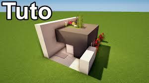 Maison Modern Minecraft minecraft tuto maison moderne de 10x7 blocks youtube