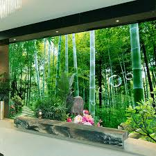 online get cheap mural waterproof wallpaper bamboo aliexpress com custom 3d mural wallpaper non woven living room sofa bedroom tv background wall painting bamboo forest small road wall mural 3d