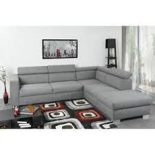 d achant tissu canap finlandek canapé d angle panoramique otso 4 places tissu gris