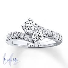jared jewelers coupon kay ever us two stone ring 1 1 2 ct tw diamonds 14k white gold