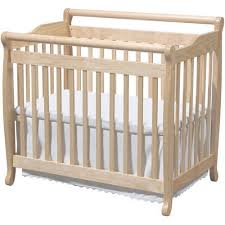 Mini Crib Vs Regular Crib Davinci Emily Fixed Side Mini Crib Walmart