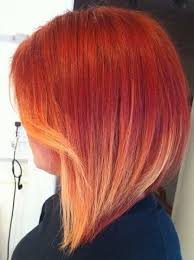 hair colors for 2015 short hairstyles and cuts red to blonde ombre color for 2015