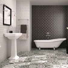 bevelled brick white matt wall tiles retro metro tiles 200x100x5mm