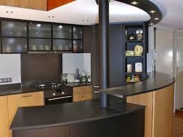 cuisine americaine avec bar modele de cuisine americaine avec ilot central cuisine gris