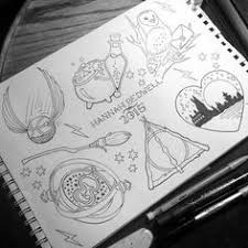 image result for harry potter drawings easy lesezeichen
