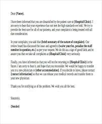 Complaints Letter To Hospital 34 complaint letter templates free premium templates