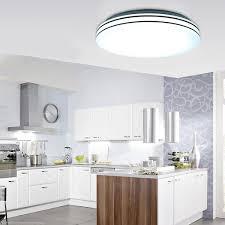 Led Deckenbeleuchtung Wohnzimmer Led Deckenleuchte Für Küchen Lampen Schienensystem Enorm