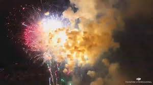 drones capture new view of 4th of july fireworks chicago tribune