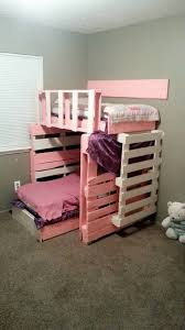Wood Bunk Bed Designs by Pallet Bunk Bed Plans Recycled Things