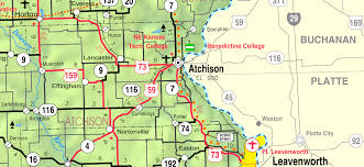 Map Of Ks File Map Of Atchison Co Ks Usa Png Wikimedia Commons