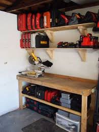 How To Build Garage Storage by Garage Hanging Wall Shelves Woodworking Plan A Recent Kitchen