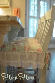 shabby chic chair cushions u0026 painted bar stools all things