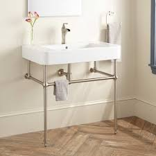 sink with metal legs bathroom console sinks apothecary sinks signature hardware