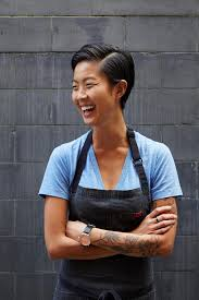 Challenge Around Neck Meet Our Get In The Kitchen Challenge Team Kristen Kish