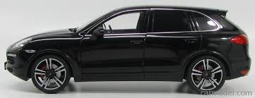 porsche cayenne 2013 black minichamps 110062100 scale 1 18 porsche cayenne turbo s 2013
