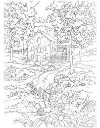coloring pages for landscapes printable scenery coloring pages 291 best landschappen kleurplaten