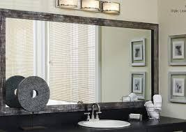 mirror trim for bathroom mirrors alluring bathroom mirror trim kit fresh living rooms frame of