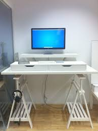 Hack Design This Home Great Ikea Hackers Standing Desk Ikea Hack Standing Desk Home