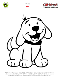 Clifford Printables Puppy Coloring Pages Pbs Kids Puppy Color Pages
