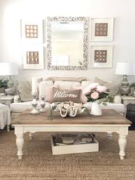 White Pink Living Room by Blush Pink For The Cottage February Starfish Cottage