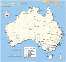 maps of political map of australia nations project