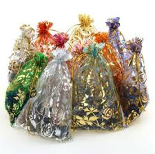 discount gold christmas candy gift bags 2017 gold christmas