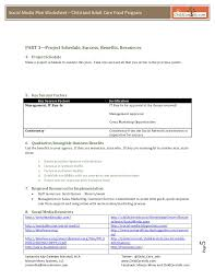social media plan template roundtable 2013 handout