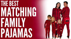 matching family pajamas for family pajamas