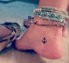 best 25 anchor tattoo foot ideas on pinterest anchor flower