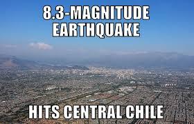 Earthquake Meme - chile earthquake memenews