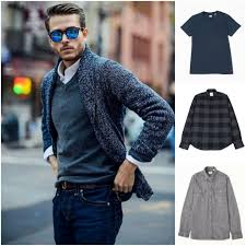 t shirt neck sweater cardigan with buttons