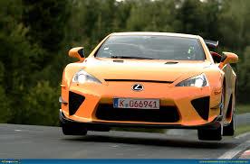 lexus lfa ad ausmotive com lexus lfa nürburgring claims ring record