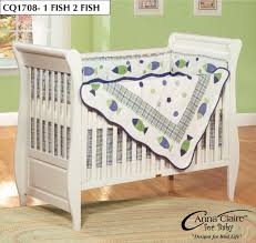 Fish Themed Comforters Gone Fishing Nursery Collection Fishing Crib Bedding By Ockbaby