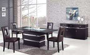 inlaid dining table and chairs pedestal dining table set coaster double pedestal dining table set
