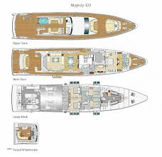 yacht floor plans luxury yacht floor plans awesome superyacht majesty 122